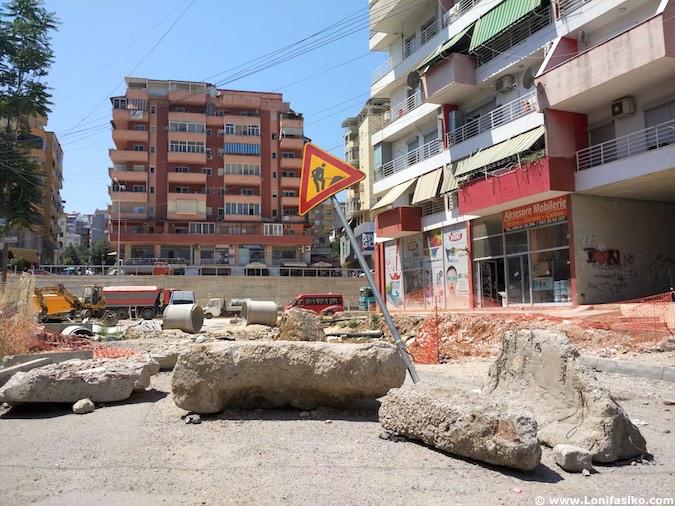 Obras Albania carreteras