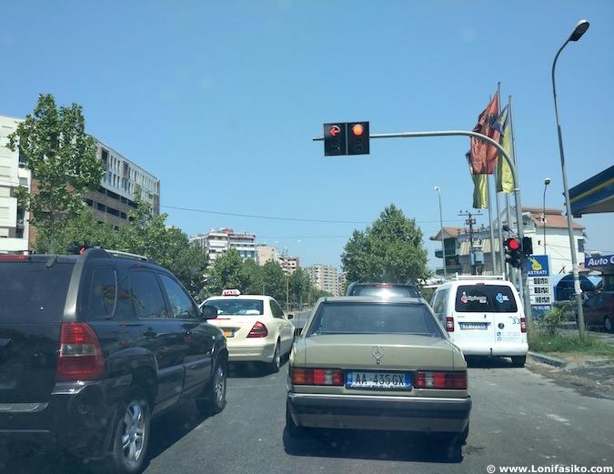 albania tráfico