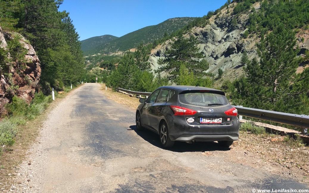 albania carreteras secundarias