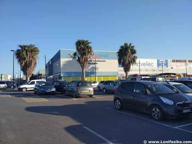 Aparcamiento gratis Ibiza capital