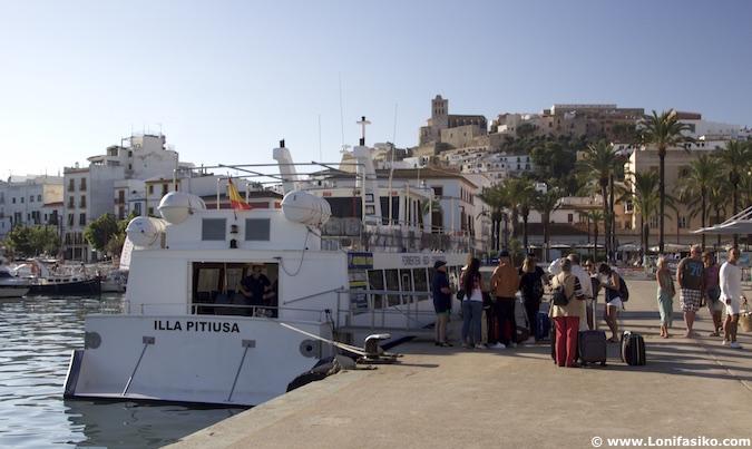 barco lowcost Ibiza Formentera