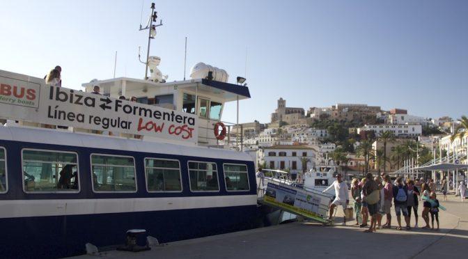 Ferry Ibiza-Formentera: en barco low cost al último paraíso del Mediterráneo