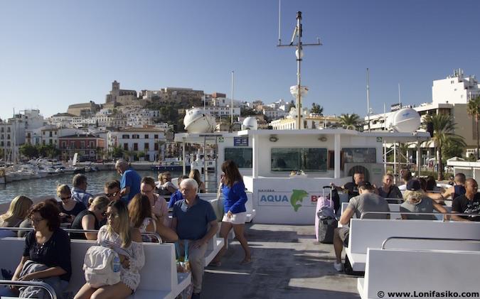 ferry aqua bus ibiza formentera