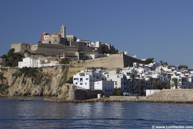 dalt vila ibiza fotos casco histórico