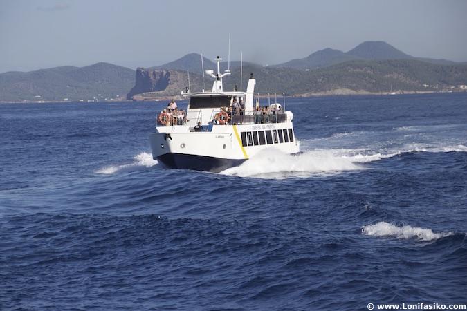 ferry ibiza formentera compañías navieras