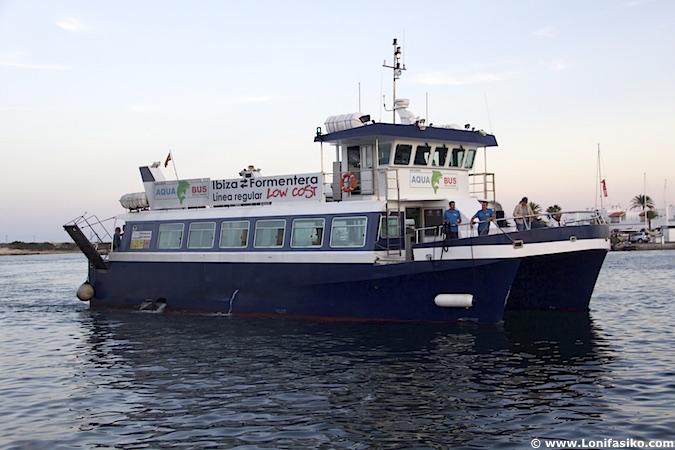 Ferry ibiza formentera Aqua Bus Ferry Boats lowcost