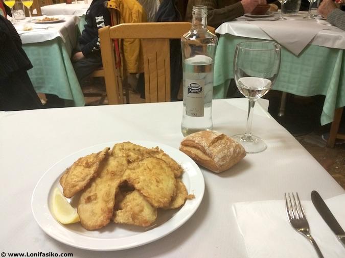 Dónde comer menú del día en Madrid centro