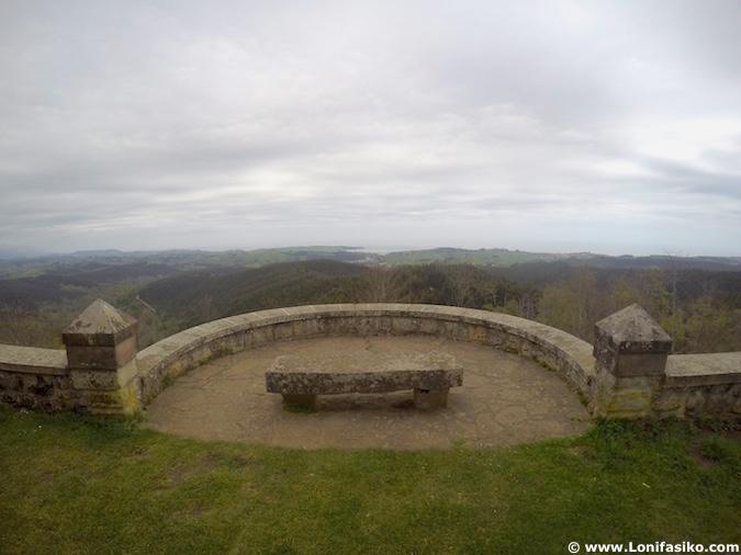 ruta monte corona comillas cantabria