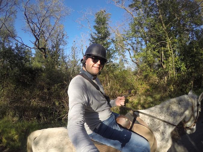 Rutas a caballo Comillas hípica troya