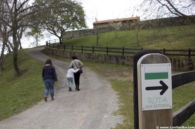 Rutas senderismo Comillas Cantabria