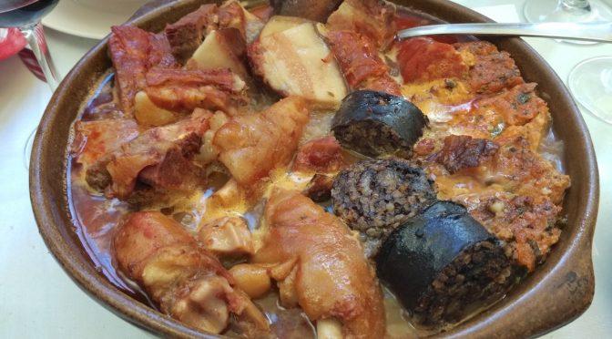 Olla podrida en Burgos: dónde comer un menú para ponerte como el Kiko