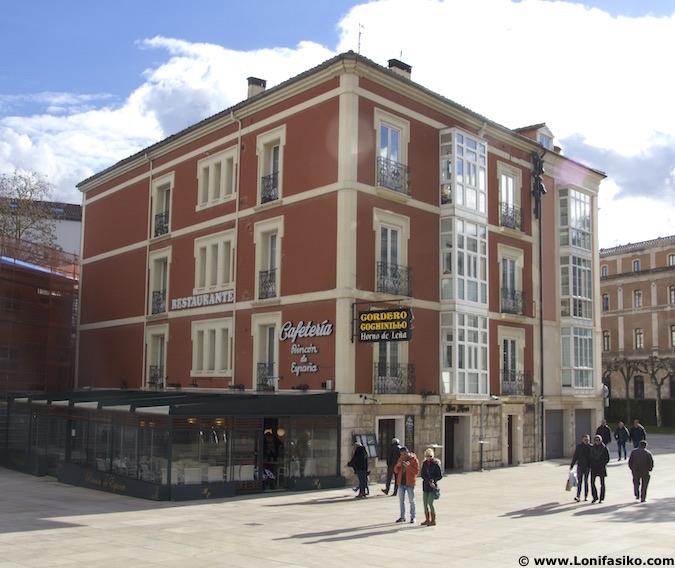 Restaurante Rincón de España en Burgos