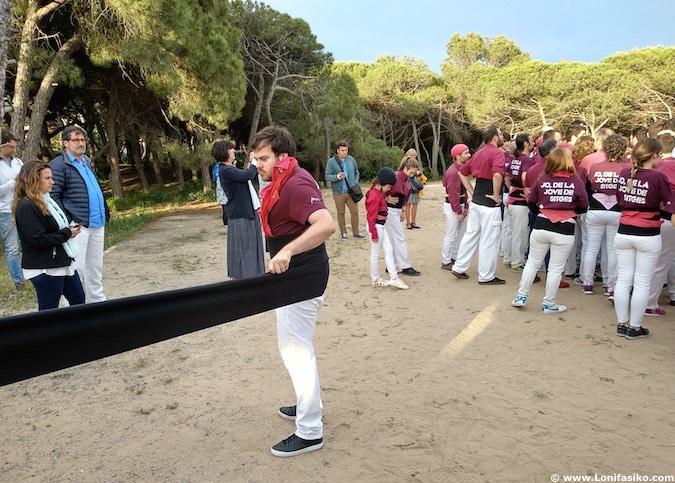 Castellers Sitges