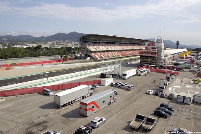 Circuito de Barcelona-Catalunya en Montmeló