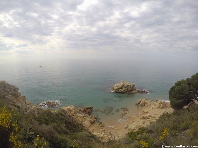 costa maresme playas barcelona