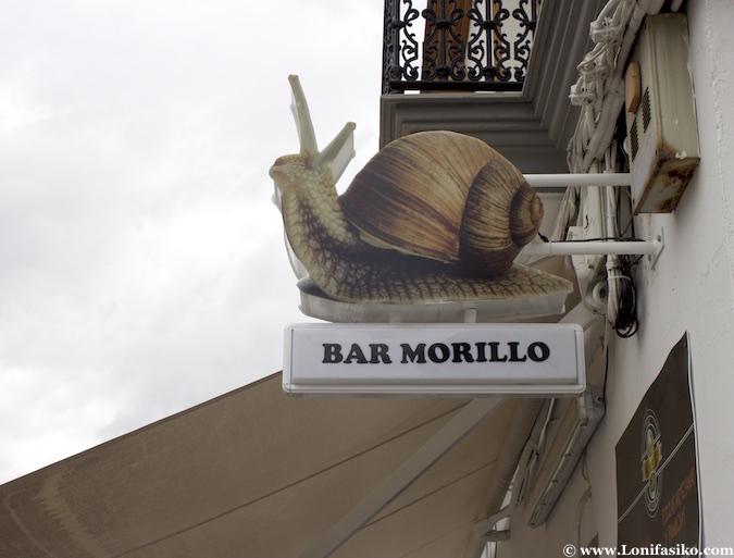 dónde comer caracoles en Los Palacios