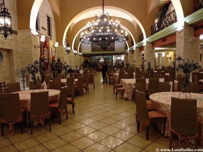 Comedor restaurante Casa Moral Los Palacios