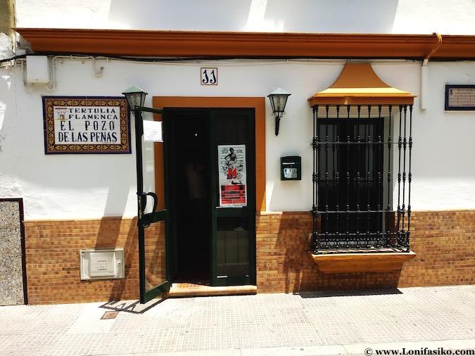 tertulia flamenca pozo de las penas en los palacios y villafranca