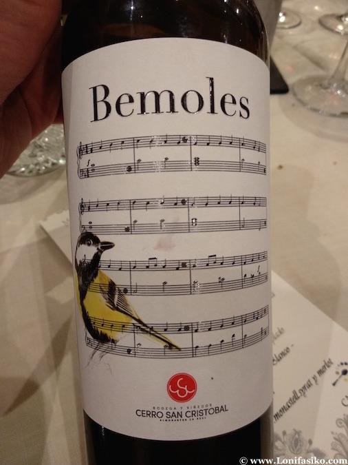 Vino tinto Bemoles de Huelva