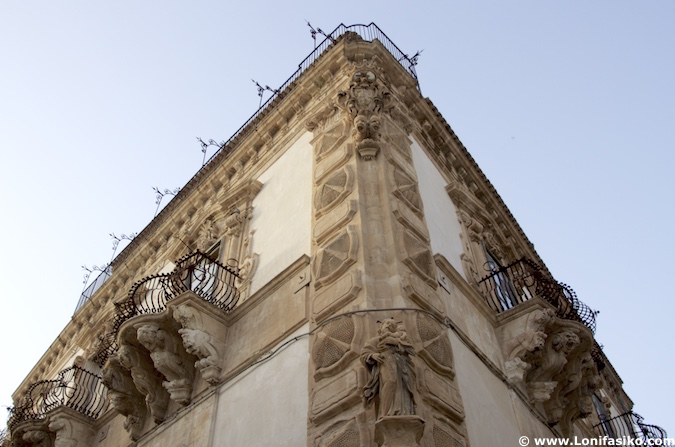 Palazzo Beneventano scicli sicilia
