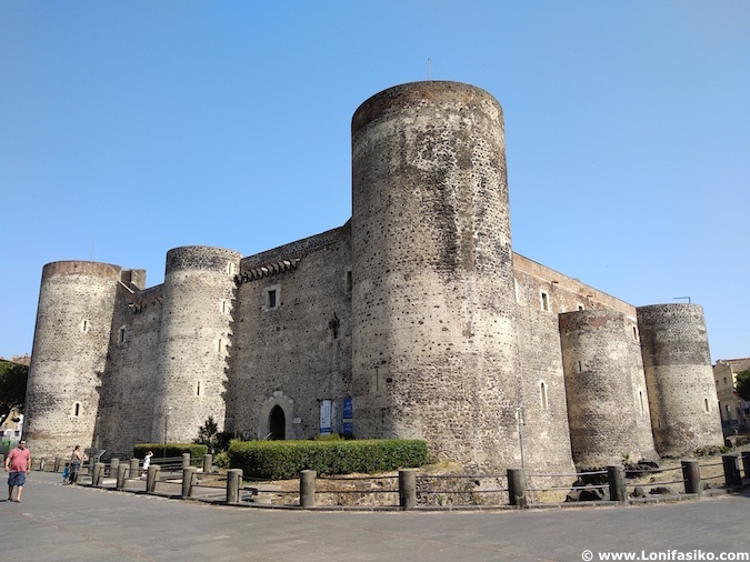 Castello Ursino Catania castillo