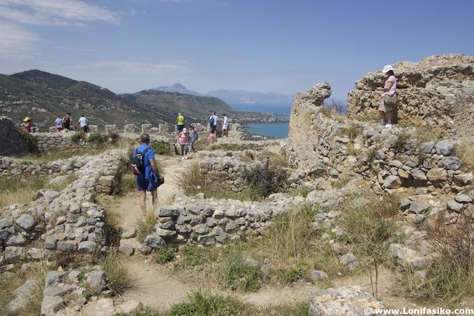 castillo de Cefalú fotos sicilia