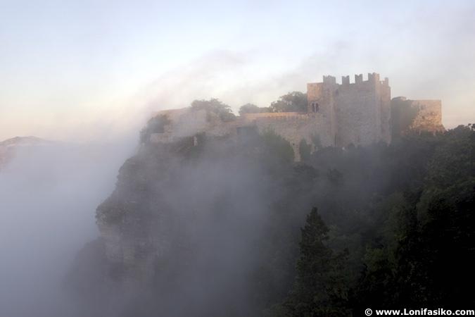 castillo de erice sicilia
