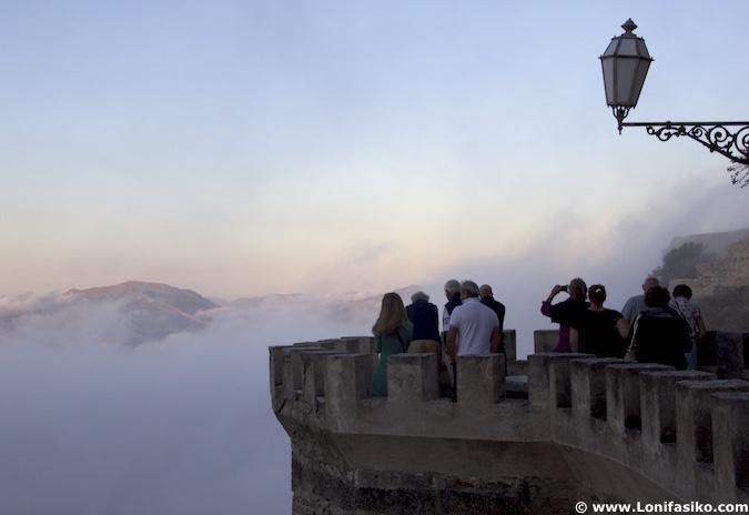 Erice fotos niebla