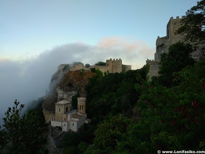 Castillo Erice Sicilia
