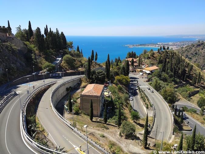 Como llegar a Taormina
