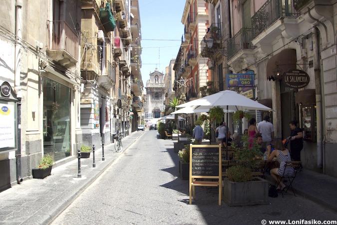 Dónde comer en Catania Santa Filomena