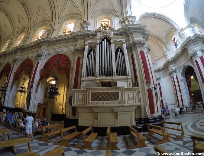Órgano Duomo di San Giorgio Ragusa Ibla