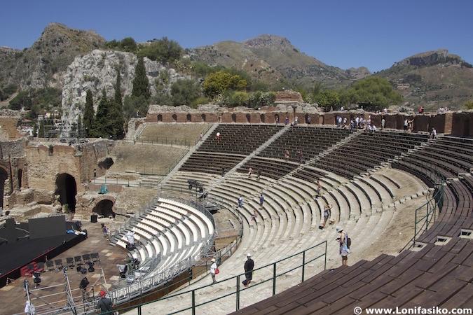 Festival teatro Taormina