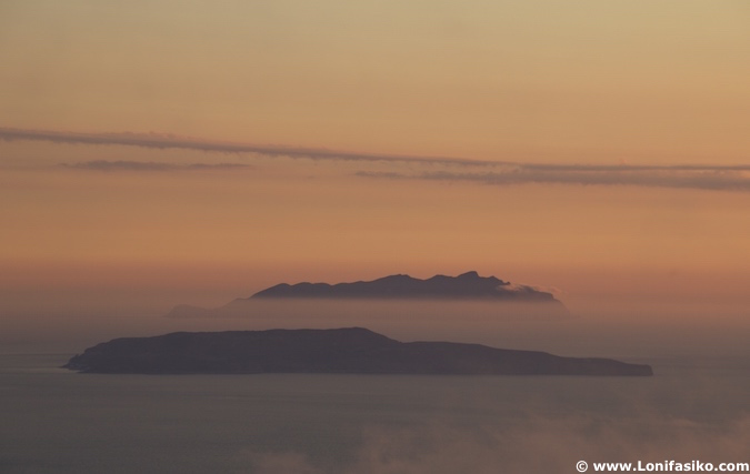 Islas Egadas Trapani fotos atardecer