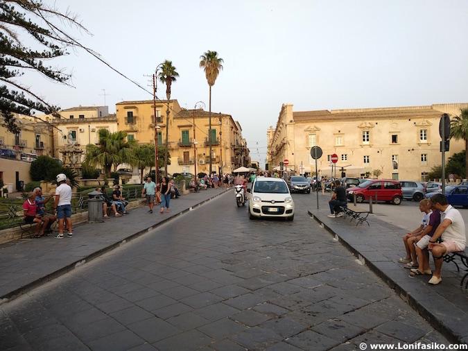 Noto con niños Sicilia