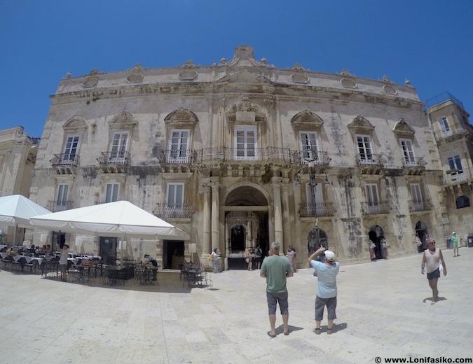 palacios piazza duomo Ortigia siracusa