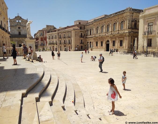 piazza duomo Ortigia siracusa