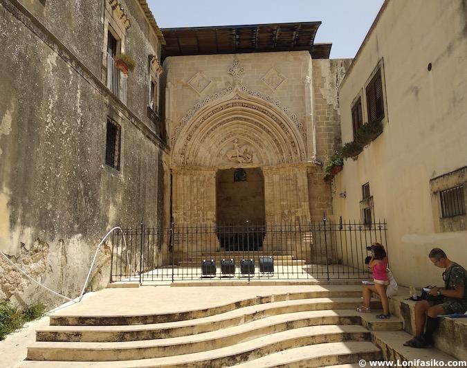 Porta San Giorgio Ragusa Ibla terremoto