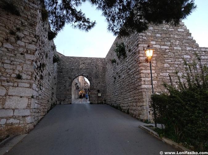 Puerta de acceso a Erice