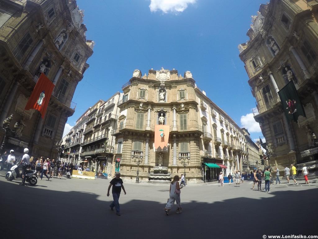 Quattro Canti Palermo Sicilia