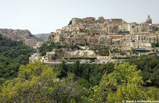 Ragusa Ibla y Ragusa Alta Sicilia