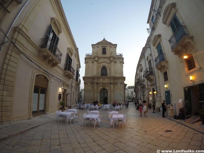 Scicli centro histórico