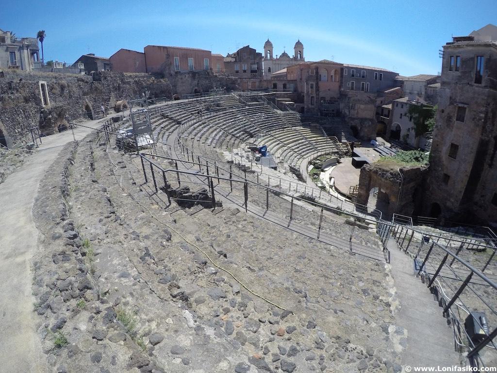 Teatro greco-romano Catania Sicilia