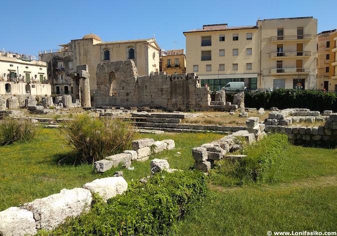 Templo Apollo Ortigia Siracusa