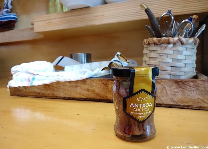 Elaborar tus propias anchoas en Maisor Getaria