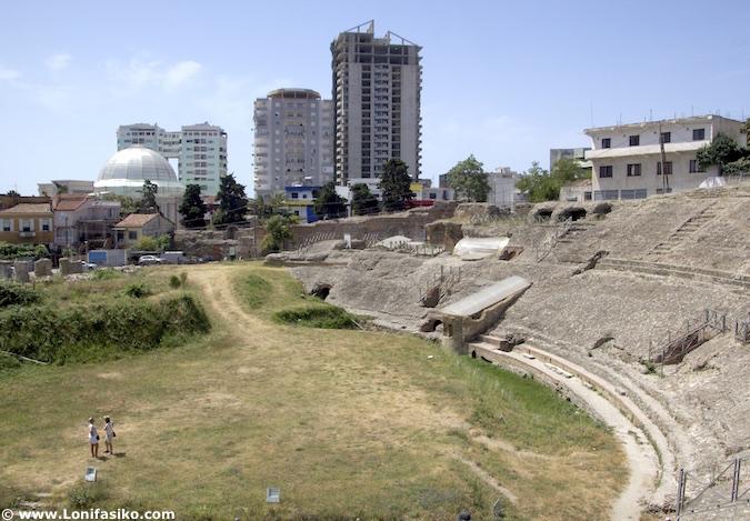 fotos anfiteatro Durres Albania