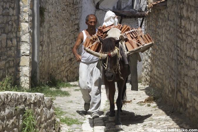 Casco histórico de Berat
