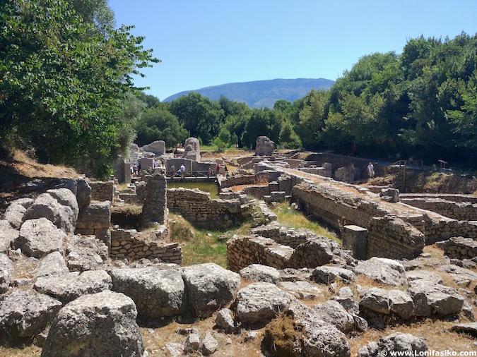 Ruinas Butrint Albania