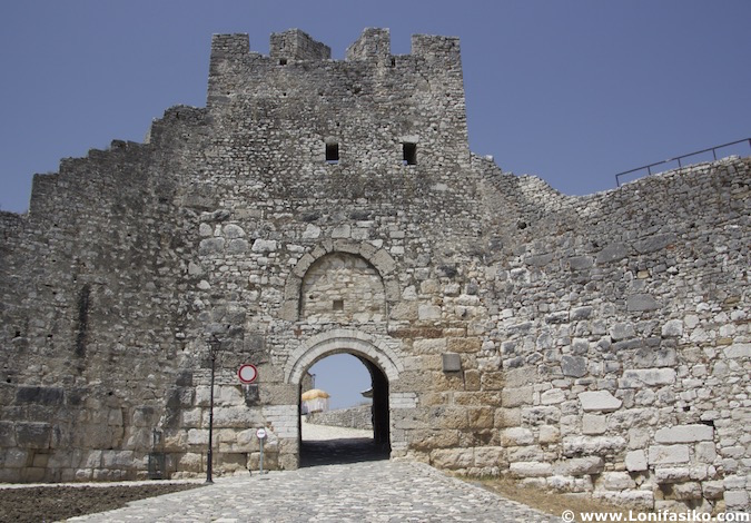 Castillo de Berat en Albania