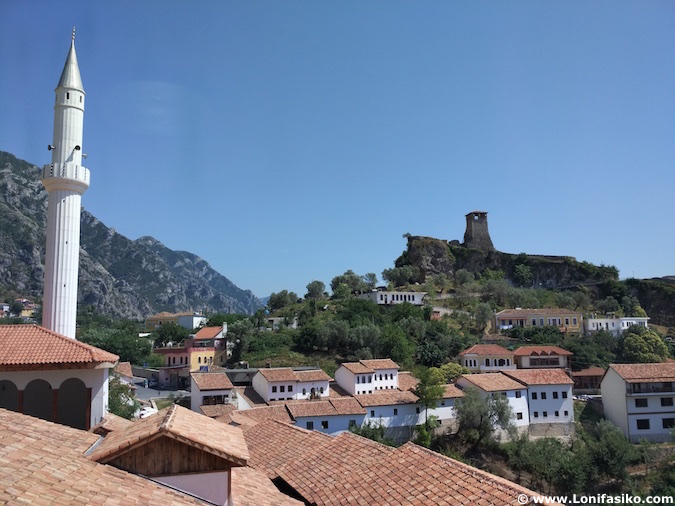 castillo krujë mezquita albania